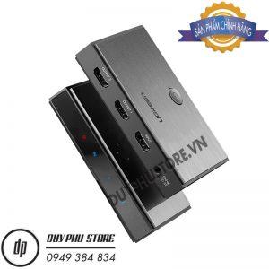Bộ Chia HDMI 2.0 4K60Hz 1 Vào 2 Ra Cao Cấp Ugreen 50707