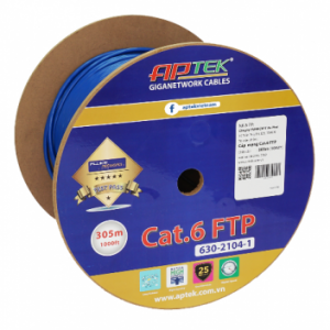 Cáp mạng CAT.6 FTP 305m – APTEK