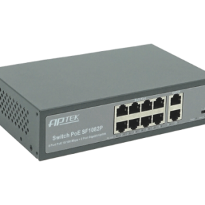 SWITCH 8 PORT PoE – APTEK SF1082P