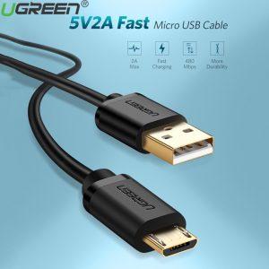 Cáp sạc micro USB mạ vàng dài 0,5m chính hãng Ugreen 10835